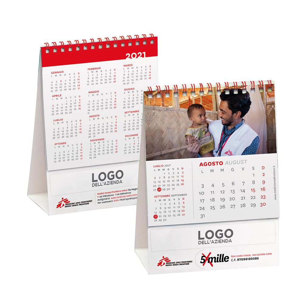 Calendario Da Scrivania 2020.Calendario Calendario Da Tavolo 2020 Medici Senza Frontiere