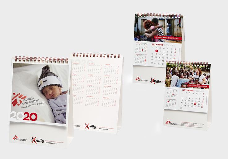 Calendari solidali per la tua azienda