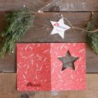 Biglietto auguri di Natale aziendale - Stella
