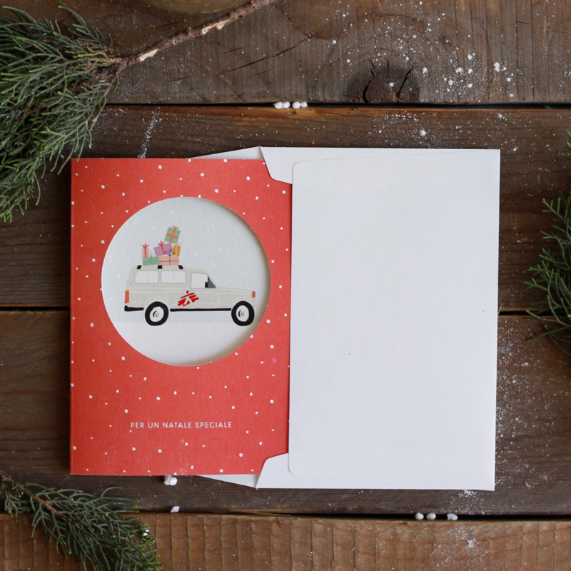 Biglietto natalizio aziendale - Oblo
